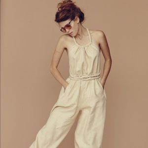Electric Feathers Infinite Rope Genie Jumpsuit
